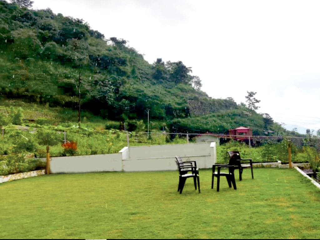 Lawn Area with Mountain View
